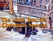 The Little Rascals' Christmas Special Cartoon Funny Pictures