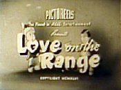 Love On The Range Free Cartoon Picture