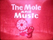 Krtek A Muzika (The Mole And The Music) Cartoon Character Picture