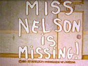Miss Nelson Is Missing! Picture Into Cartoon
