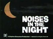 Noises In The Night Cartoon Picture