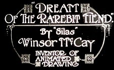 Dreams of a Rarebit Fiend Theatrical Cartoon Logo