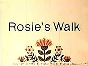 Rosie's Walk Picture Into Cartoon