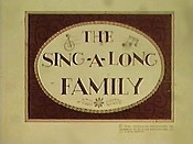 The Sing-A-Long Family (Series) Cartoon Character Picture