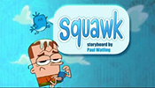 Squawk Picture Into Cartoon