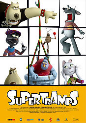 Supertramps The Cartoon Pictures