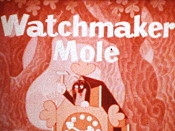 Krtek Hodinarem (The Mole As A Watchmaker) Cartoon Picture