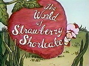The World Of Strawberry Shortcake Cartoon Picture