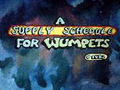 A Supply Schedule For Wumpets
