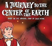 A Journey To The Center Of The Earth Cartoon Picture