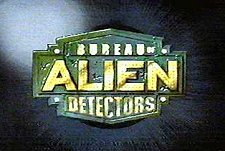 Bureau of Alien Detectors Episode Guide Logo
