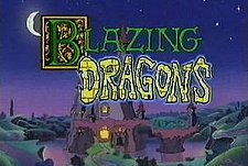Blazing Dragons Episode Guide Logo