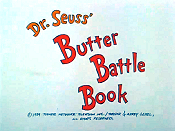 Dr. Seuss' Butter Battle Book Pictures Of Cartoon Characters