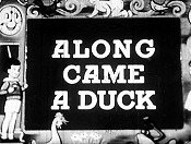 Along Came A Duck Cartoon Picture