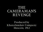 Miest Kinooperatora Operatora (The Cameraman's Revenge) The Cartoon Pictures