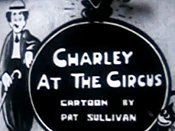 Charley At The Circus Cartoon Picture