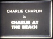 Charlie At The Beach Cartoon Picture