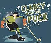 Clancy With The Puck Free Cartoon Picture