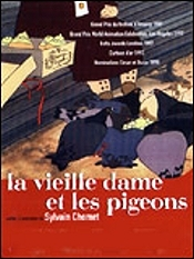 La Vieille Dame Et Les Pigeons (The Old Lady And The Pigeons) Picture Of Cartoon