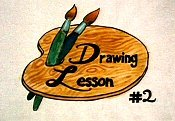 Drawing Lesson #2 Free Cartoon Pictures