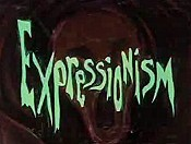 Expressionism Picture Of Cartoon