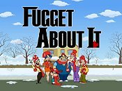 Fugget About It Free Cartoon Picture