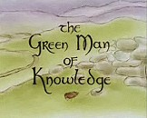 The Green Man of Knowledge Cartoon Picture
