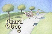 Guard Dog Cartoon Character Picture