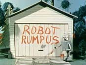 Robot Rumpus Cartoon Picture