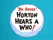 Horton Hears A Who! Free Cartoon Picture