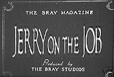 Jerry On The Job Theatrical Cartoon Logo