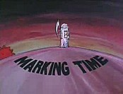 Marking Time Free Cartoon Picture