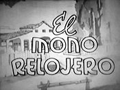 El Mono Relojero Cartoon Picture