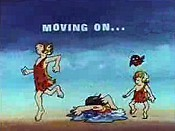 Moving On Free Cartoon Picture