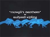 Mowgli's Brothers Cartoon Picture