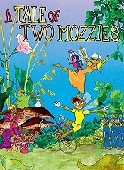 Cykelmyggen og Dansemyggen (A Tale of Two Mozzies) Picture Of Cartoon