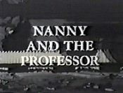 Nanny And The Professor Cartoon Picture