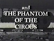 Nanny And The Professor And The Phantom Of The Circus