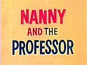 Nanny and the Professor Cartoon Character Picture