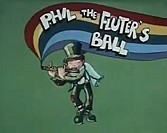 Phil The Fluter's Ball Free Cartoon Picture