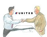 United Airline: Signature Cartoon Character Picture