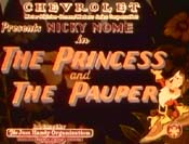 The Princess And The Pauper Cartoon Picture