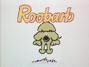 When Roobarb Mixed The Paint Cartoon Picture