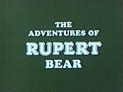 The Adventures Of Rupert Bear (Series) Cartoon Picture