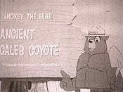 Ancient Caleb Coyote Cartoon Picture