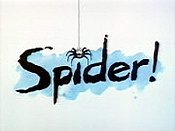 Spider's Song Cartoon Picture