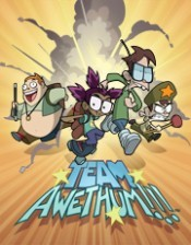 Team Awethum!!! (Series) The Cartoon Pictures
