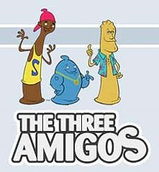 The Three Amigos Episode Guide Logo