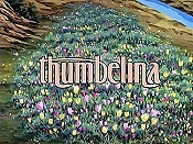 Thumbelina Free Cartoon Picture
