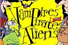 Vampires, Pirates and Aliens Episode Guide Logo